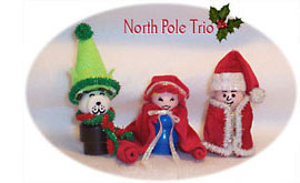 This Old Toy Crafts - North Pole Trio