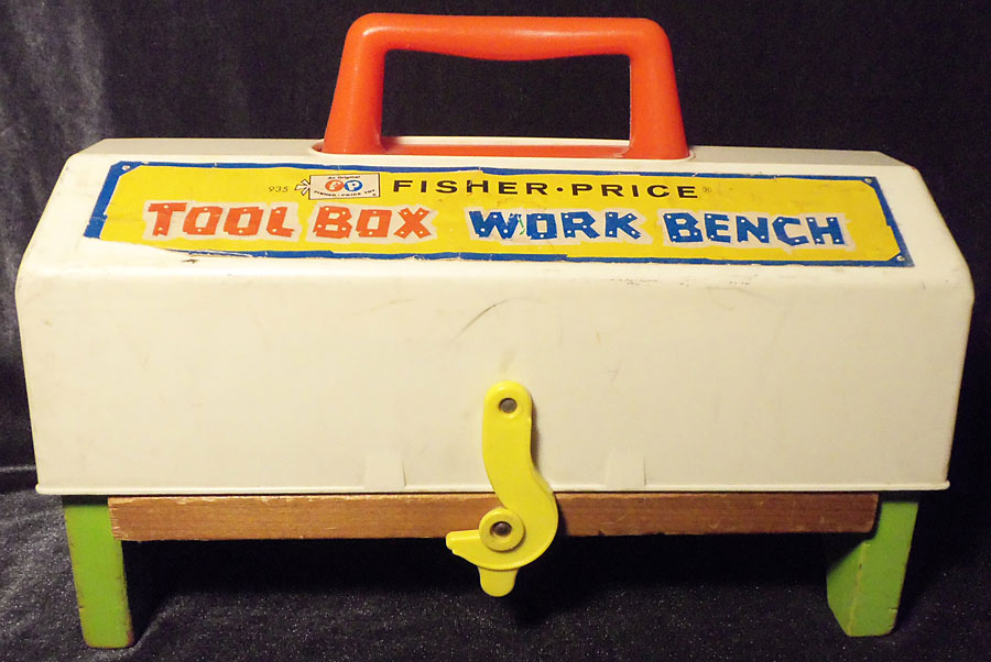 This Old Toy S Fisher Price Construction Site Tools